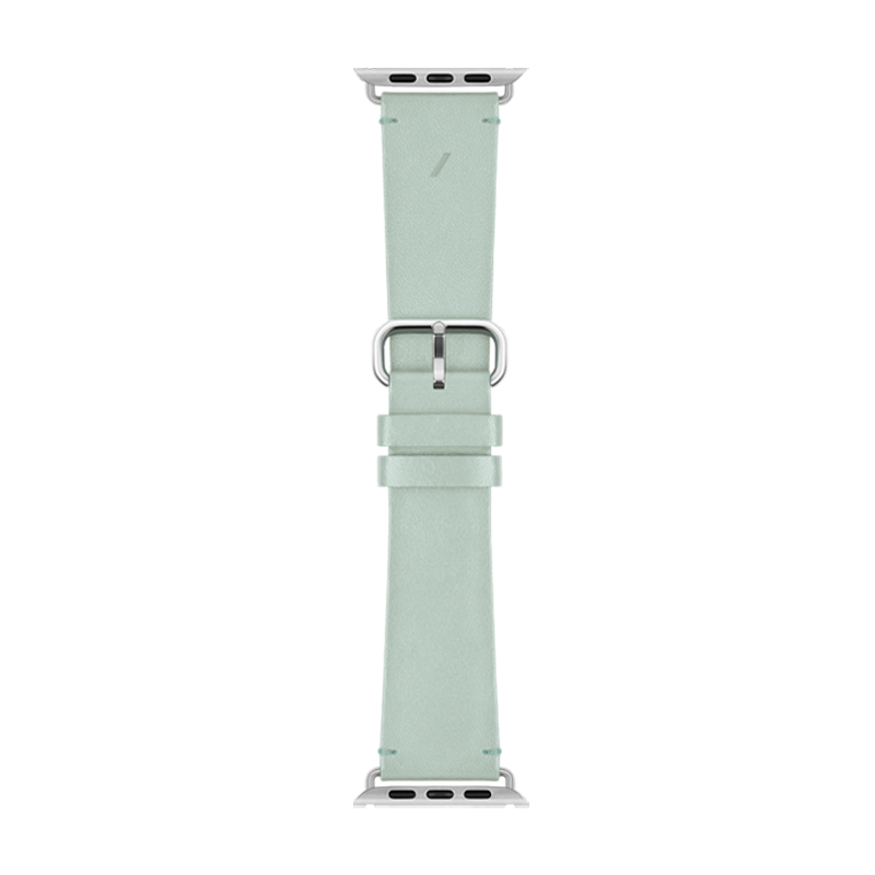 __sku:STRAP-AW-L-GRN;Classic Strap for Apple Watch - Sage - 42mm / 44mm