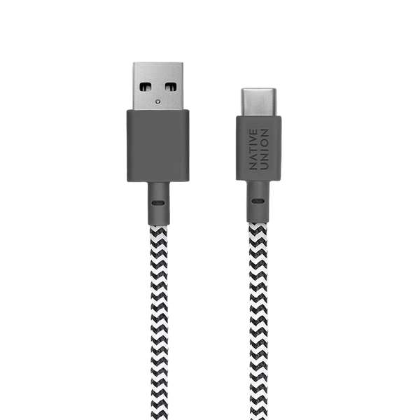 34253152223371,Belt Cable (USB-A to USB-C) - Zebra