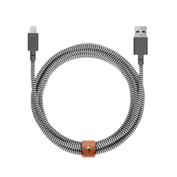 Belt Cable XL - Zebra - USB-A to Lightning