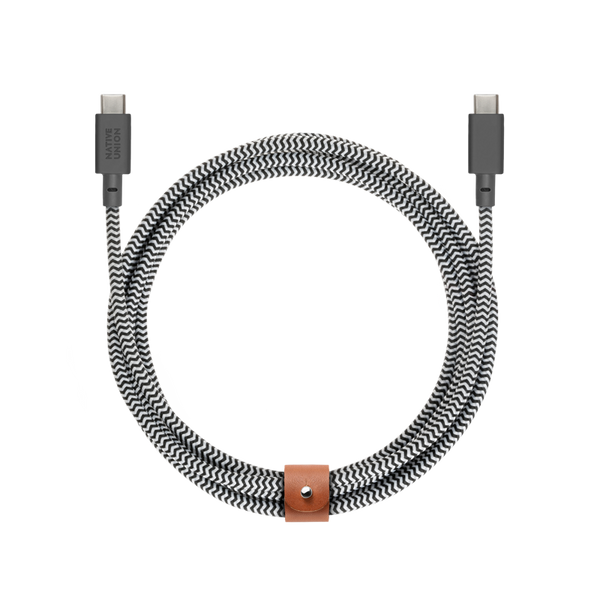__sku:BELT-KV-C-ZEB;Belt Cable USB-C to USB-C - Zebra - USB-C to USB-C