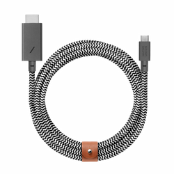 Belt HDMI - Zebra - HDMI to USB-C