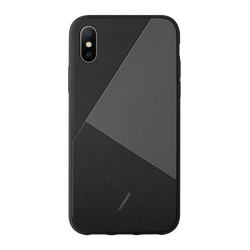 Clic Marquetry - Black - iPhone Xs