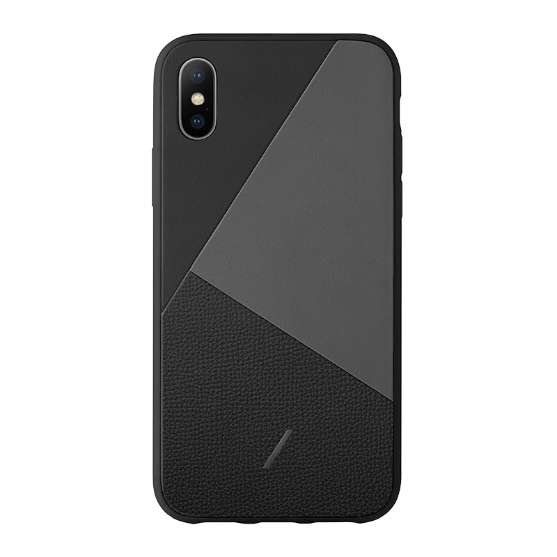 __sku:CMARQ-BLK-NP18S;Clic Marquetry - Black - iPhone Xs