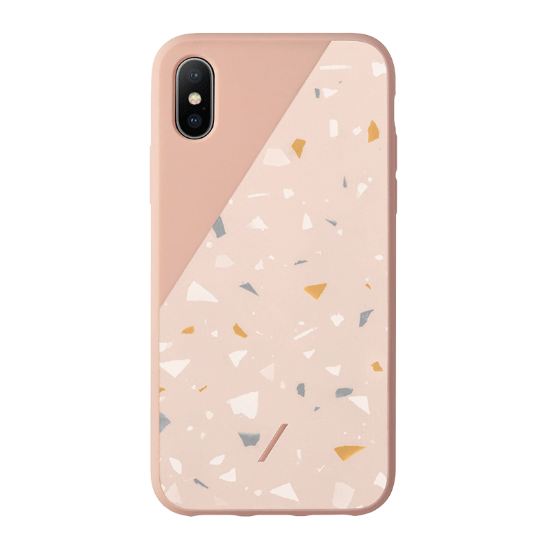 __sku:CTERA-ROSE-NP18S;Clic Terrazzo - Rose - iPhone Xs