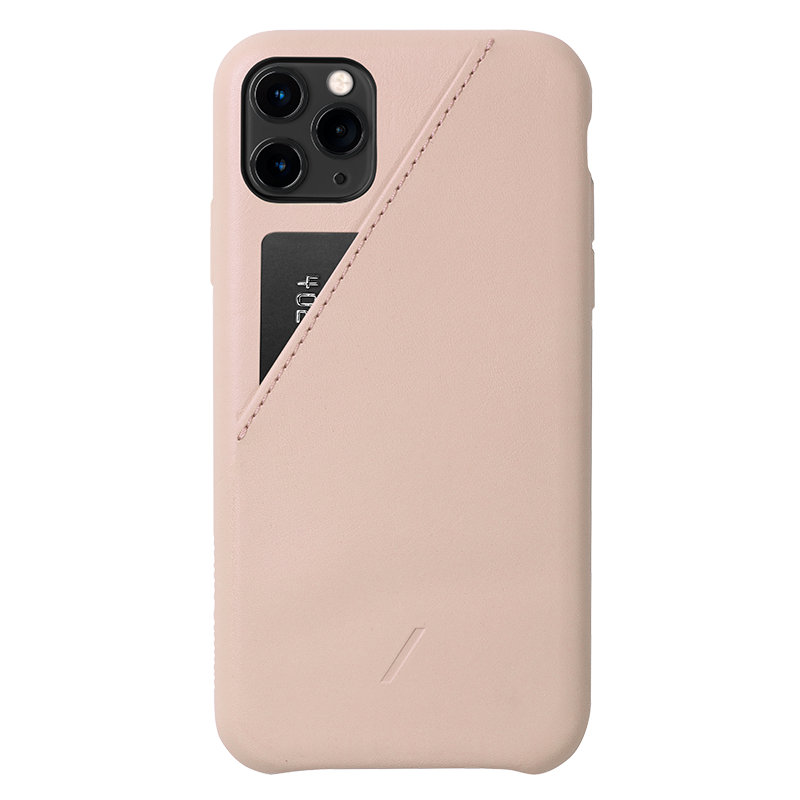 __sku:CCARD-NUD-NP19L;Clic Card - Rose - iPhone 11 Pro Max
