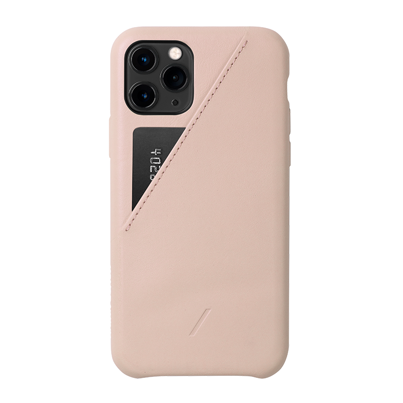 __sku:CCARD-NUD-NP19S;Clic Card - Rose - iPhone 11 Pro