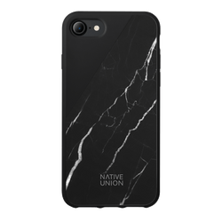 Clic Marble - Black - iPhone SE