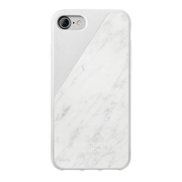 34253224312971,Clic Marble (iPhone SE) - White Marble