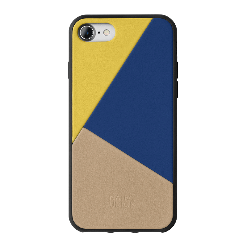34253227982987,Clic Marquetry (iPhone SE) - Yellow