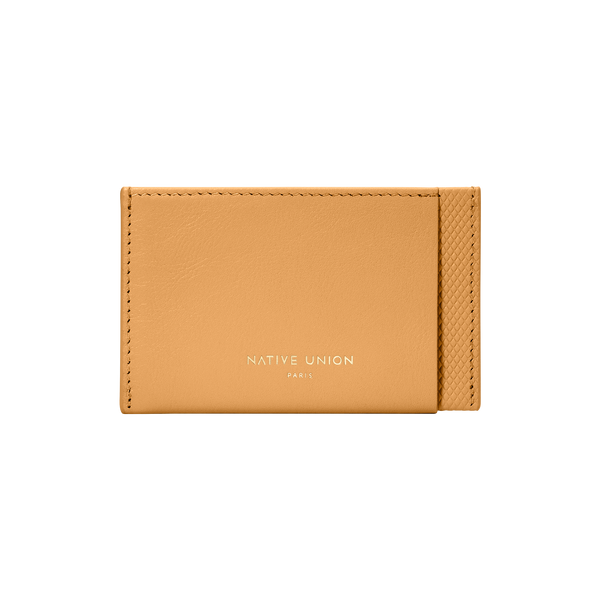34408250933387,Heritage Card Holder - Ocre