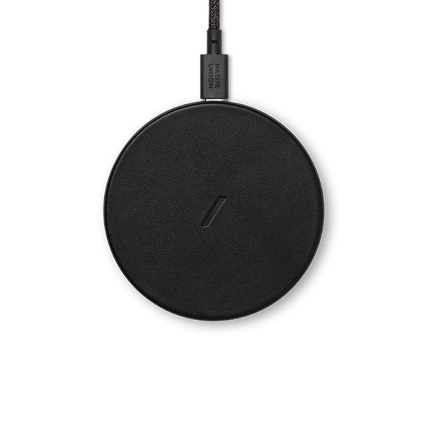 34253234241675,Drop Classic Leather Wireless Charger - Black