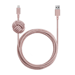 Night Cable - Rose - USB-A to Lightning