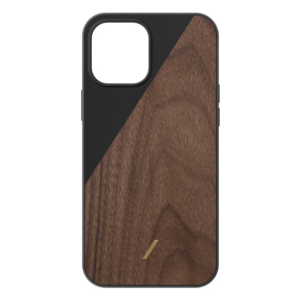 34316690522251,Clic Wooden (iPhone 12 Pro Max) - Black