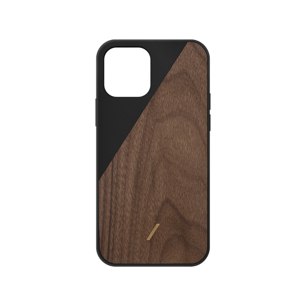 34316690194571,Clic Wooden (iPhone 12 Mini) - Black