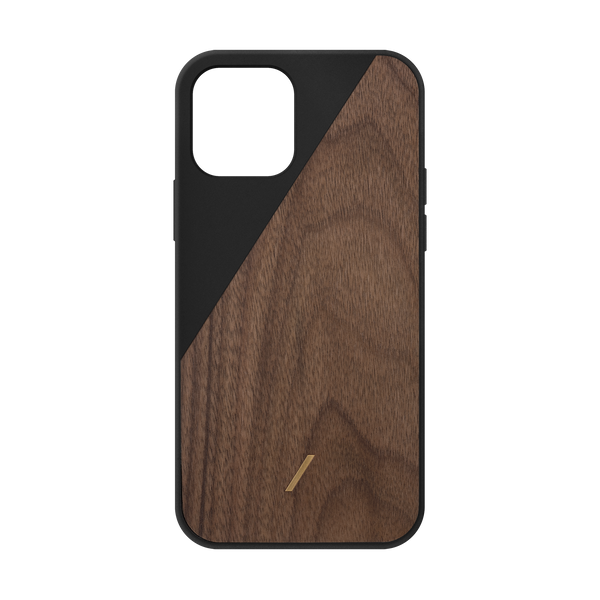 34316691800203,Clic Wooden (iPhone 12) - Black