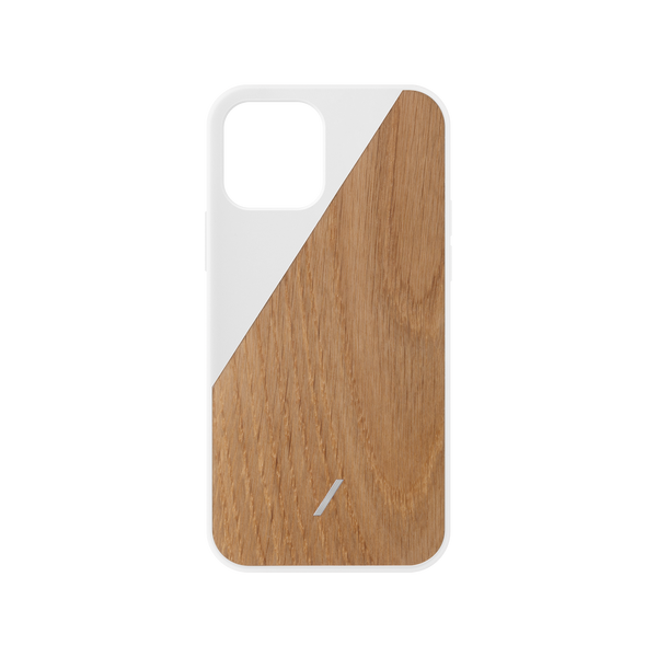 34316690227339,Clic Wooden (iPhone 12 Mini) - White