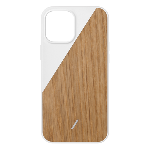 34316690555019,Clic Wooden (iPhone 12 Pro Max) - White