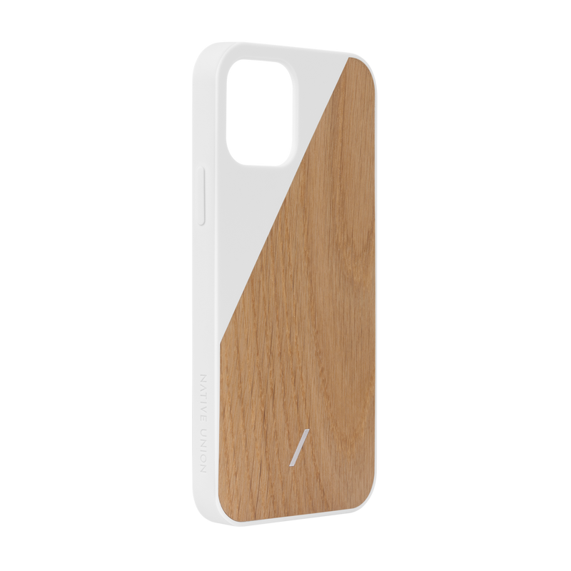 34316691832971,Clic Wooden (iPhone 12) - White
