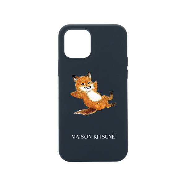 34480260120715,Chillax Fox Case (iPhone 12 Mini) - Blue