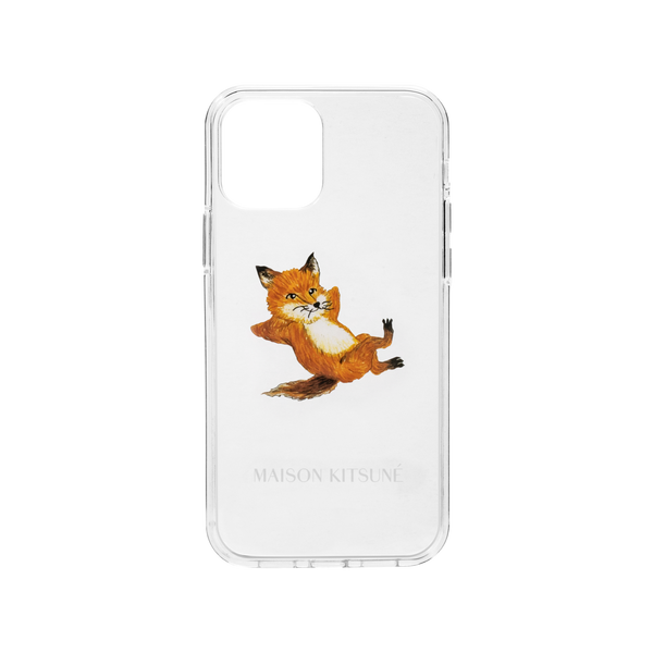 34480260153483,Chillax Fox Case (iPhone 12 Mini) - Clear