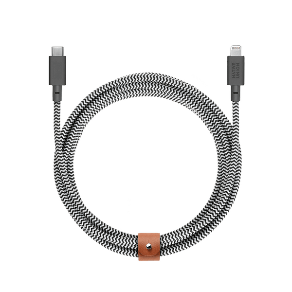 34253157335179,Belt Cable XL (USB-C to Lightning) - Zebra