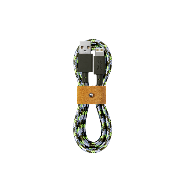 34253150060683,Belt Cable (Maison Kitsuné Edition) - USB-A to Lightning