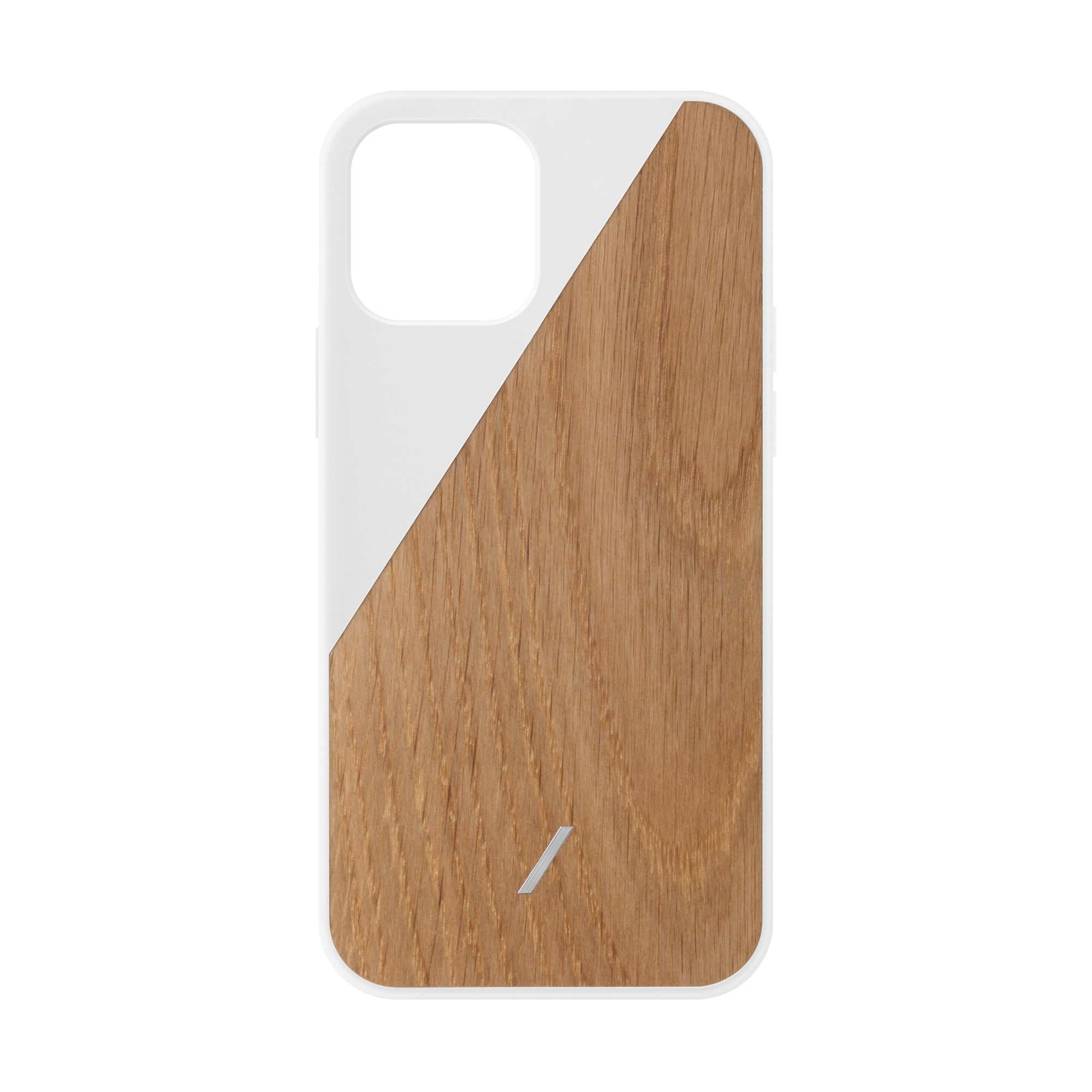 34316691079307,Clic Wooden (iPhone 12 Pro) - White