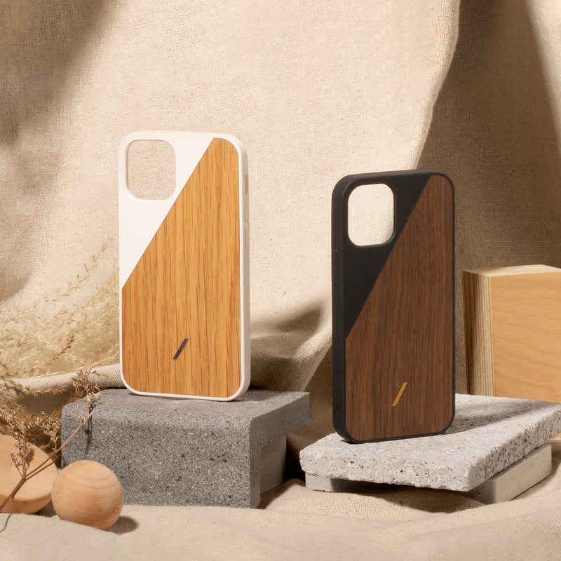 34316690194571,34316690227339,Clic Wooden (iPhone 12 Mini)