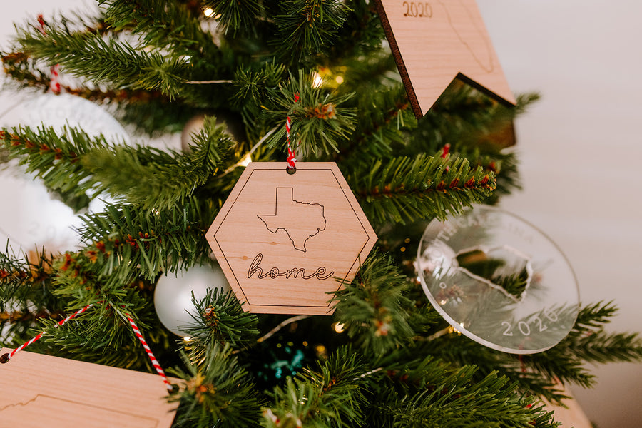 Home State Ornaments