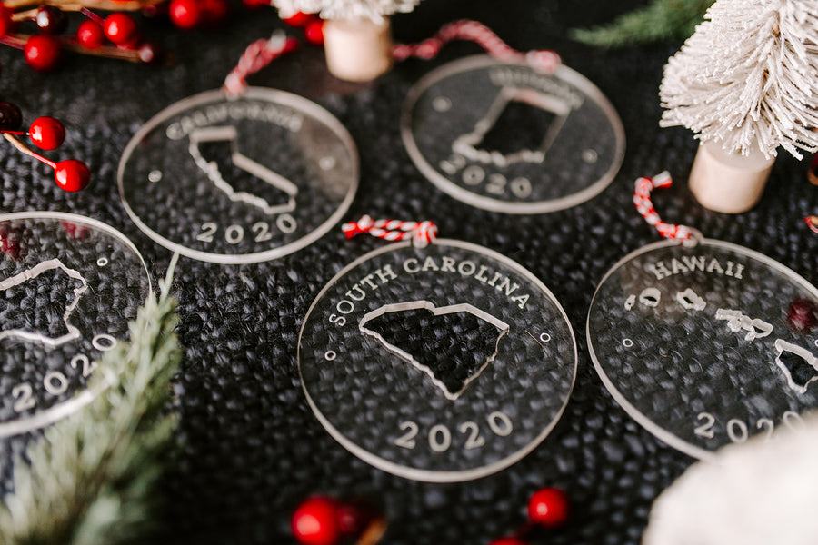 2020 State Ornaments