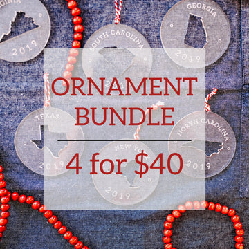 4 for $40 Ornament Bundle