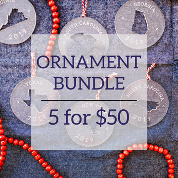 5 for $50 Ornament Bundle