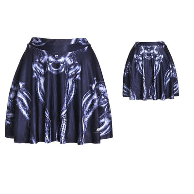 SKELETON SKATER SKIRT