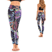 LOTUSX™ NEON FLORAL LEGGINGS