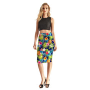 INTO THE TROPICS PENCIL SKIRT