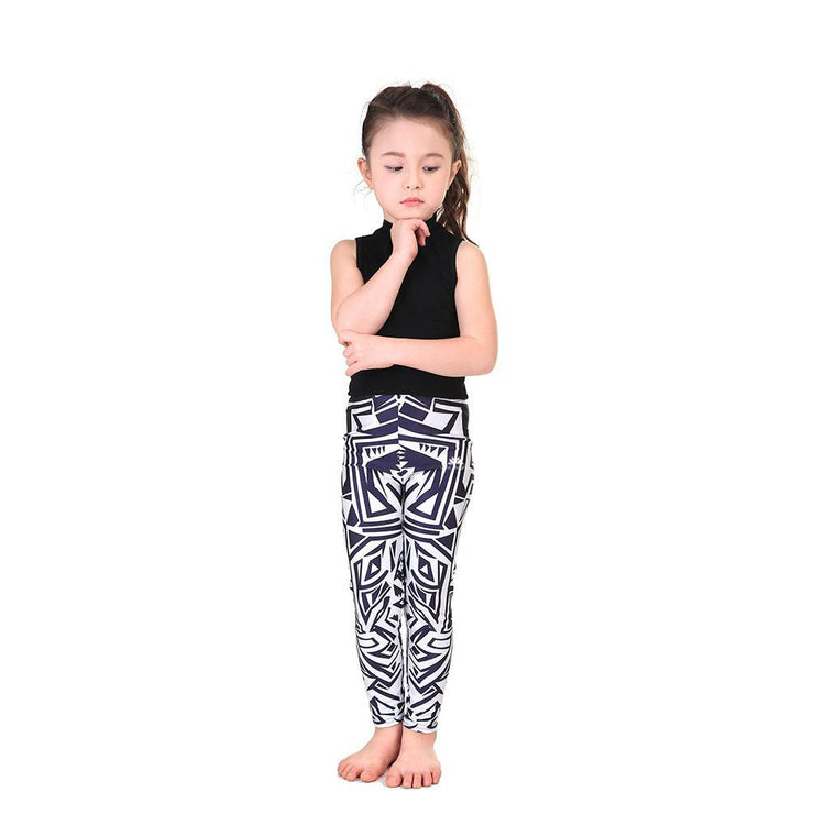 KID'S MAZE LEGGINGS