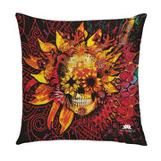 SUNSET SKULL PILLOW COVER