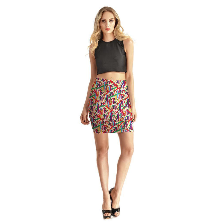 PICK YOUR PENCIL BODYCON SKIRT