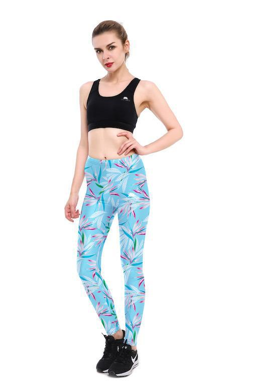 WINDY LEAVES LEGGINGS