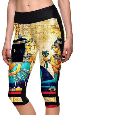CLEOPATRA ATHLETIC CAPRI