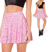 BRAINS SKATER SKIRT