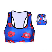 READ MY LIPS SPORTS BRA