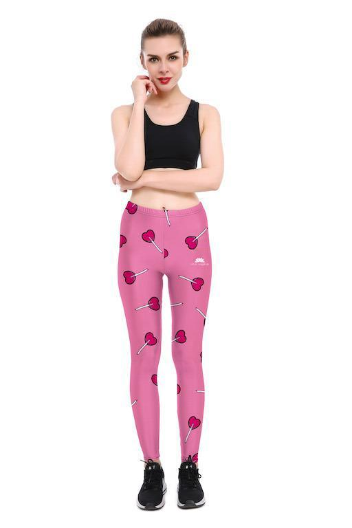 LOLLIPOP HEARTS LEGGINGS