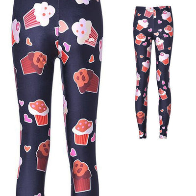 SWEET CUPCAKES LEGGINGS