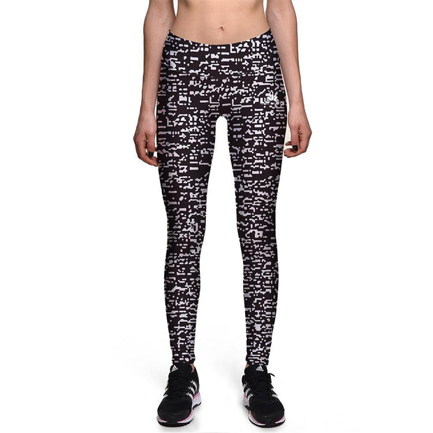 WHITE NOISE ATHLETIC LEGGINGS