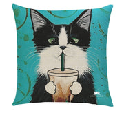CAT FRAP PILLOW COVER