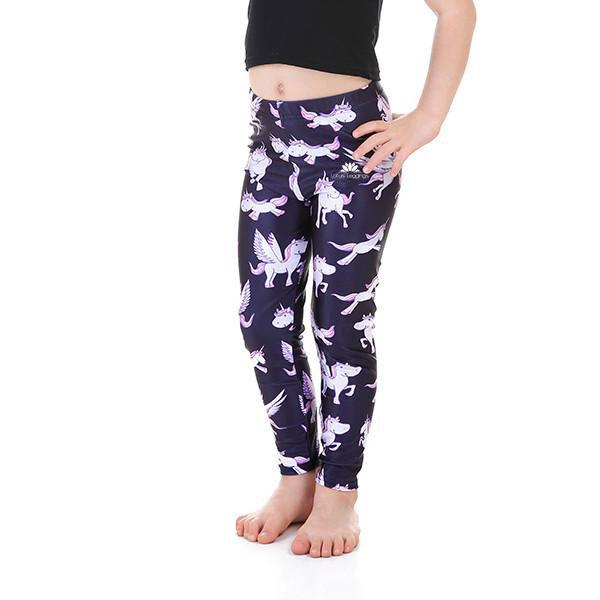 KID'S FLYING UNICORN LEGGINGS