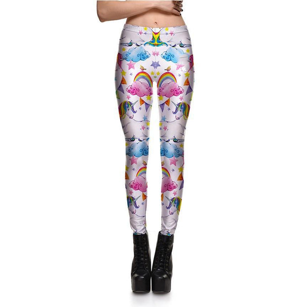 Unicorn in the Sky Leggings