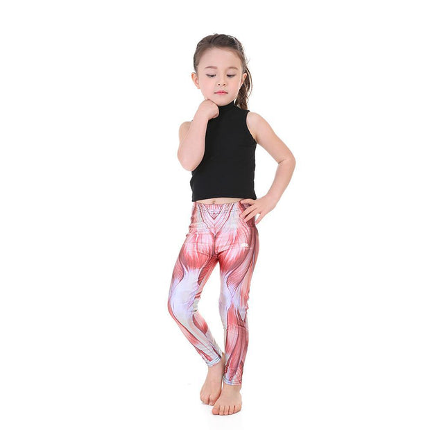 KID'S MUSCLE LEGGINGS