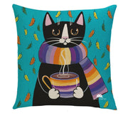 PURRFECT MORNING PILLOW COVER